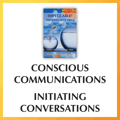 Conscious Communications: Initiating Conversations