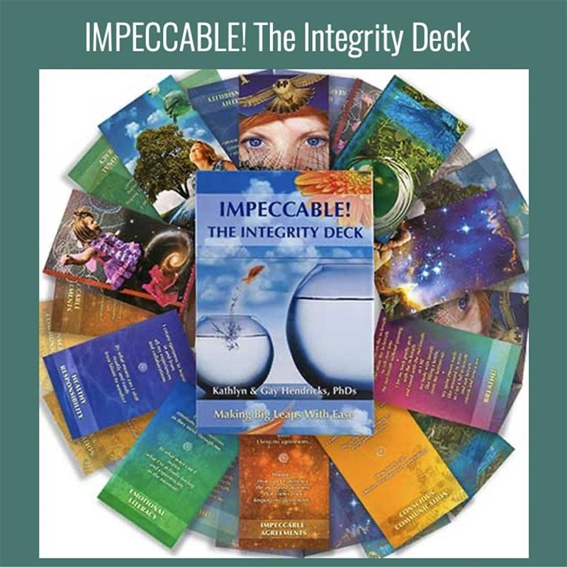 An image of cards from Impeccable! The Integrity Deck