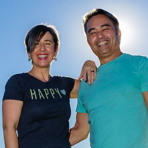 Michele Roberts and Dean Yasuda
